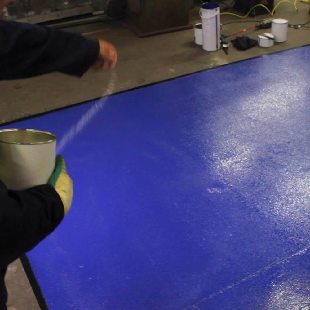 Rizistal Epoxy Anti Slip Floor Paint Coating Cold Cure