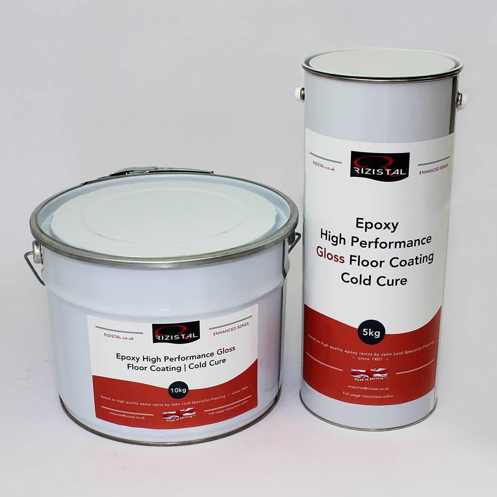 Epoxy Coat Paint : Rizistal cold cure epoxy floor paint coating colours