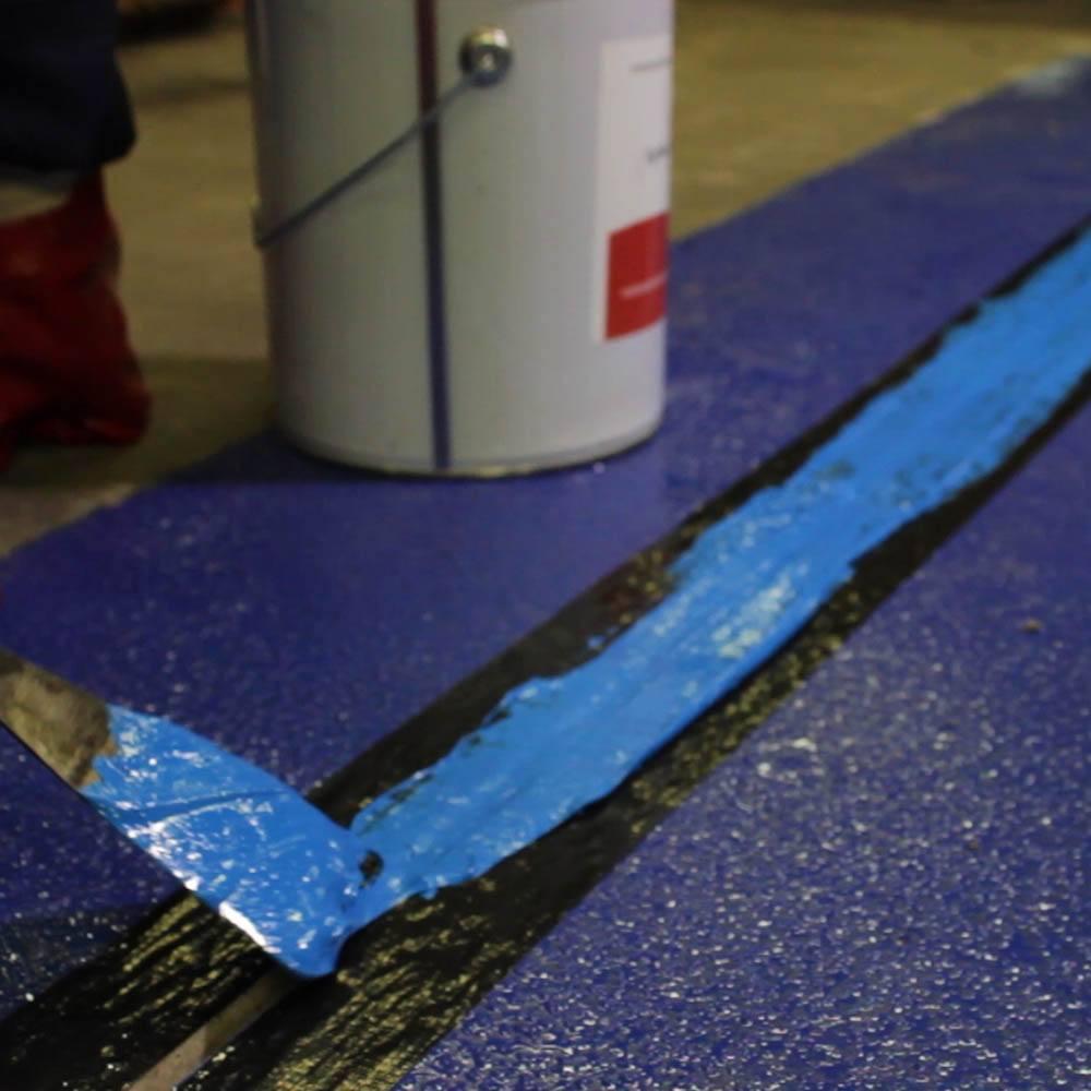 Concrete Joint Tape : Rizistal epiflex flexible concrete jointing mastic colour