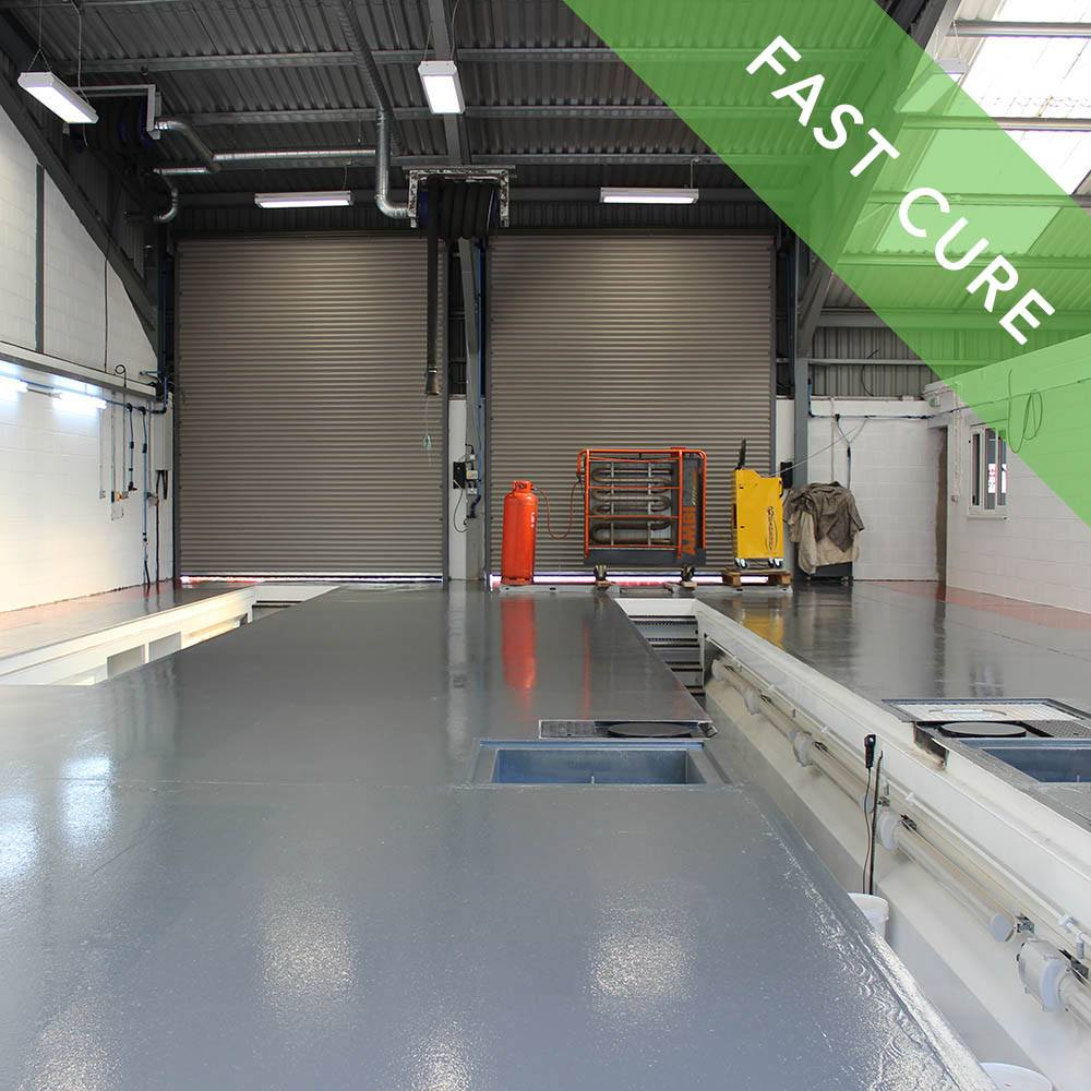 Fast Cure Epoxy : Rizistal fast cure epoxy floor paint coating colours