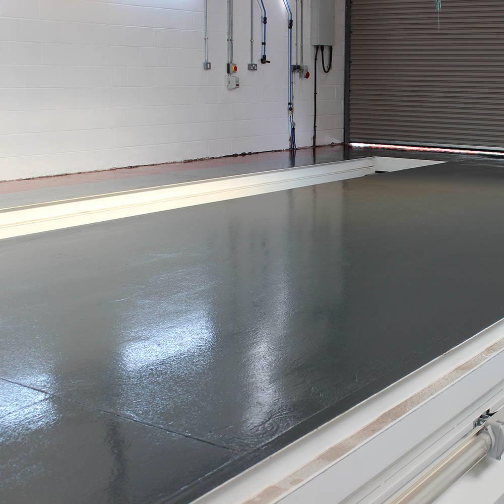 Epoxy Coat Paint : Rizistal fast cure epoxy floor paint coating colours