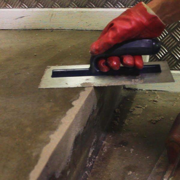 Epoxy Cement Repair : Rizistal step edge epoxy resin concrete repair mortar