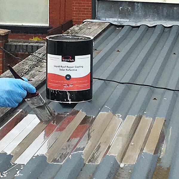 Roof Repair Solar Reflective Liquid Paint Coating C