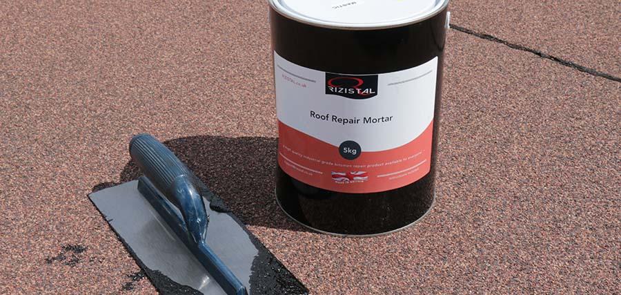 Rizistal-roof-repair-mortar